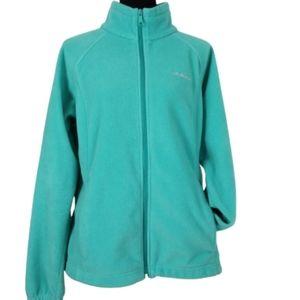 Columbia womens xl fleece zip up jacket